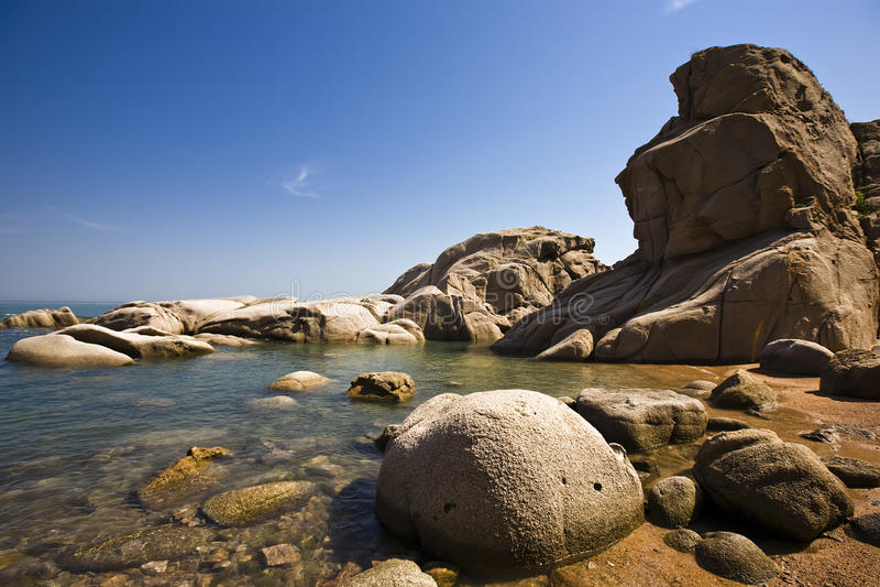 камень пляжа стоковые фото