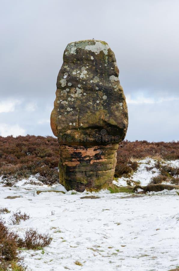 Камень пробочки на Stanton причаливает стоковые фотографии rf