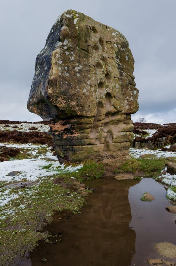 Камень пробочки на Stanton причаливает стоковые изображения rf