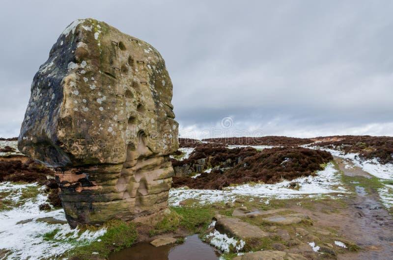 Камень пробочки на Stanton причаливает стоковое изображение rf