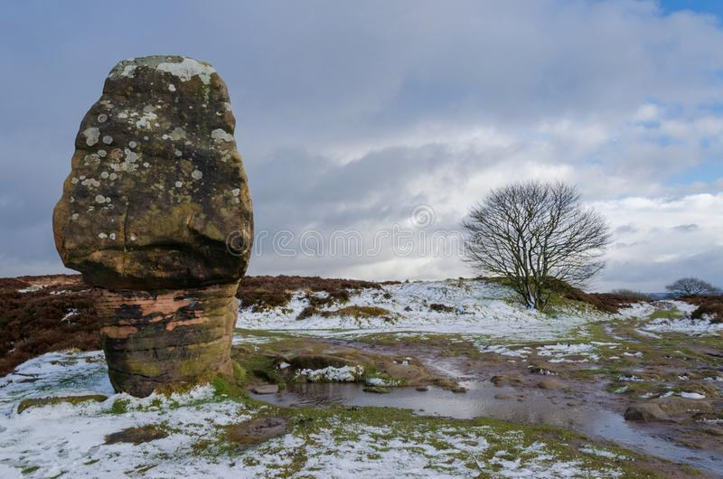Камень пробочки на Stanton причаливает стоковая фотография