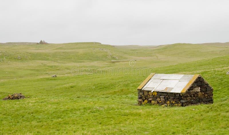 камень сарая Стоковая Фотография RF