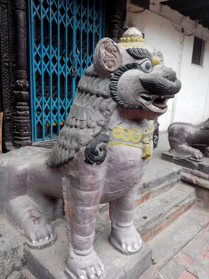камень сброса nanjing льва фарфора стоковые фото