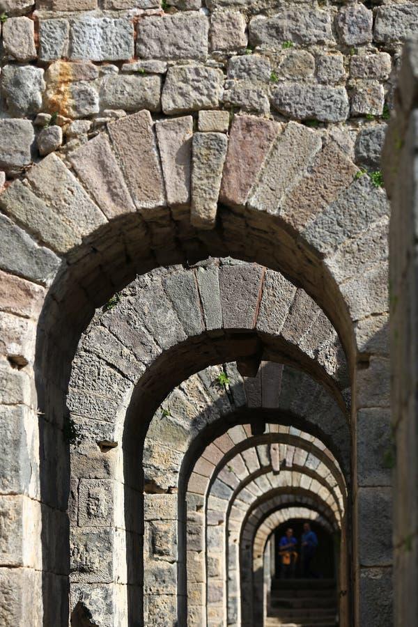 Камень свода в индюке стоковая фотография