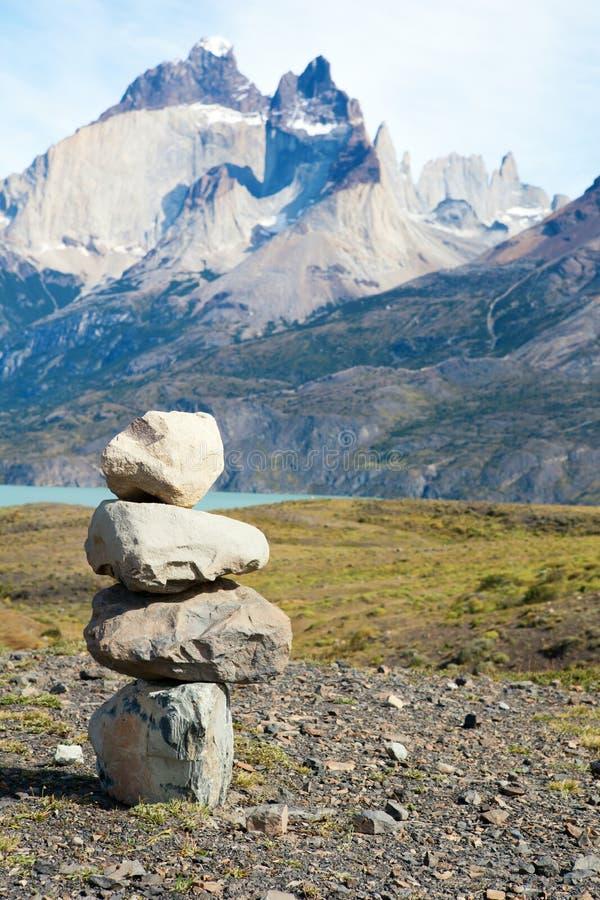 камень стога стоковое фото rf