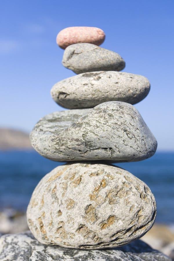 камень стога стоковая фотография rf