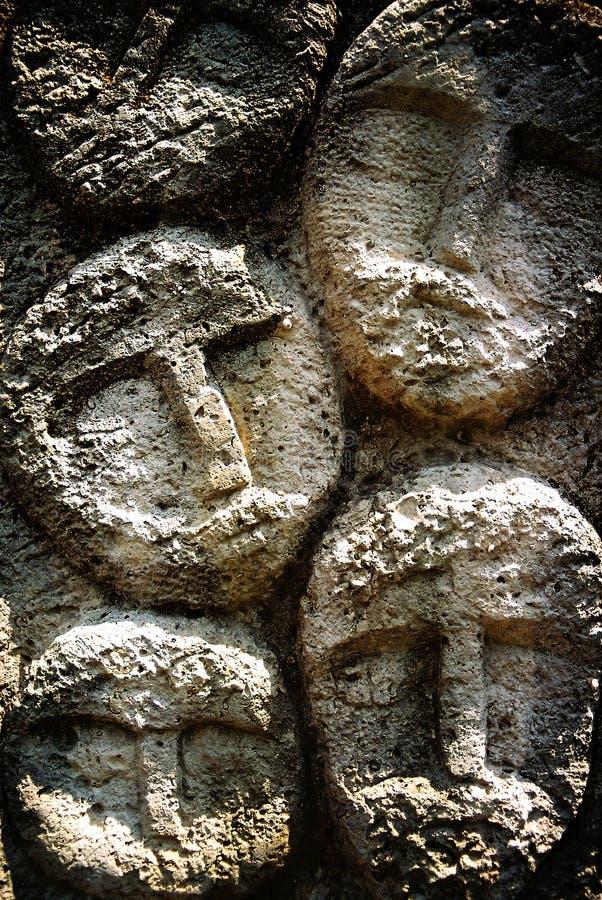 камень сторон стоковые фотографии rf