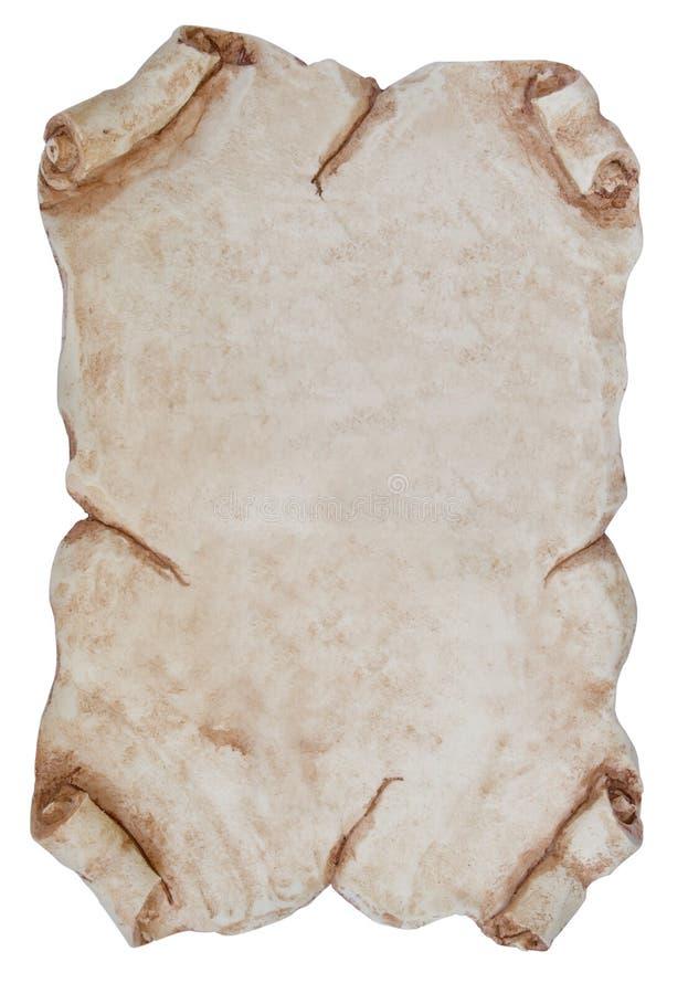 камень страницы стоковое изображение
