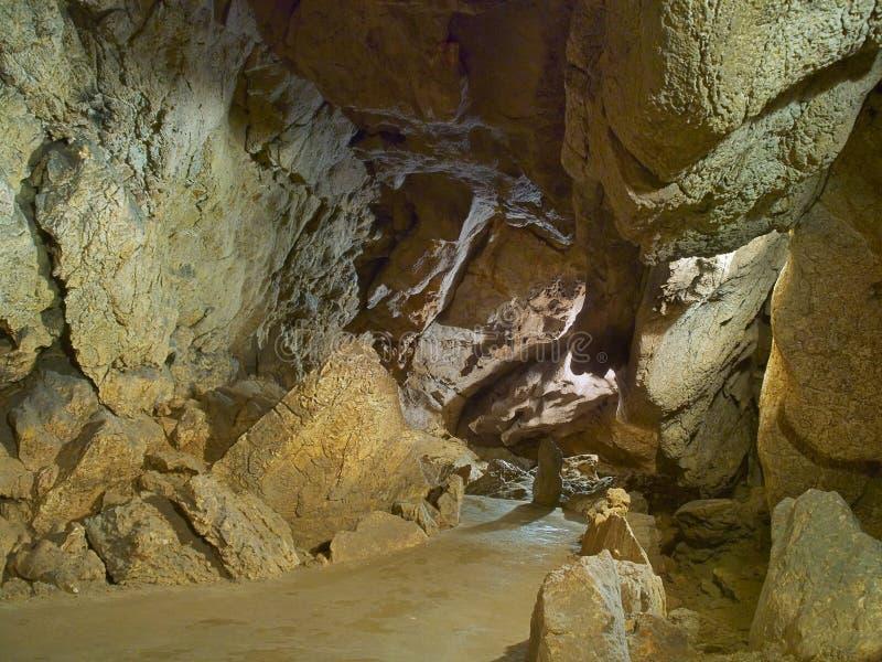 камень тропы cavern стоковое изображение