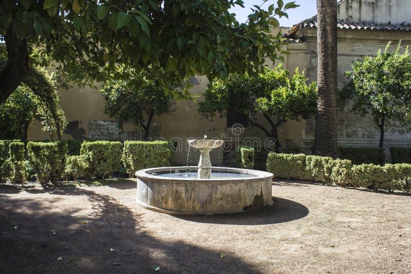 камень фонтана старый стоковая фотография rf