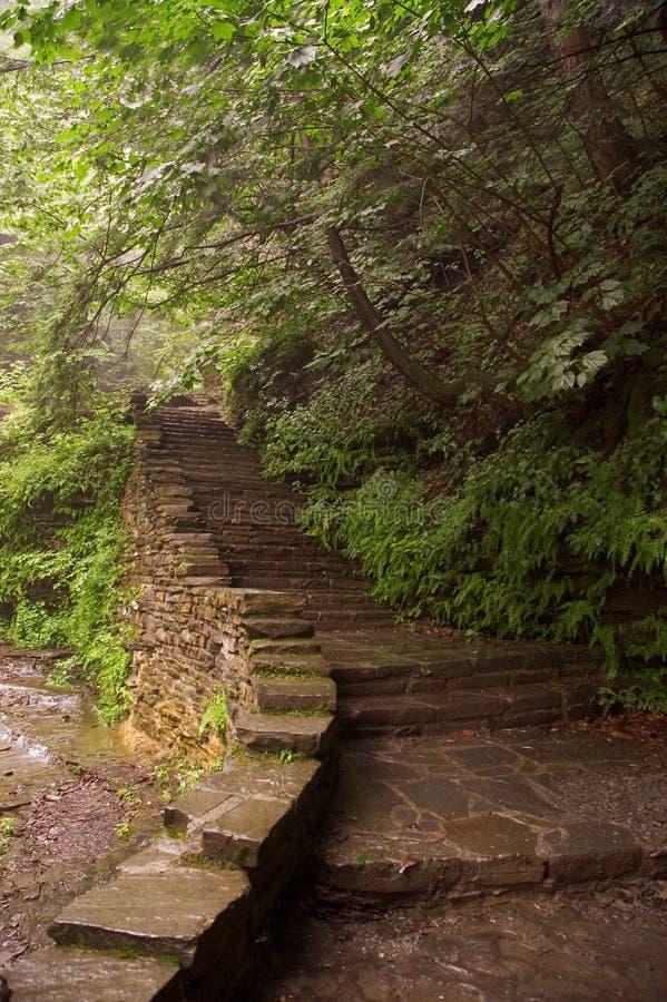 камень 2 лестниц стоковая фотография rf