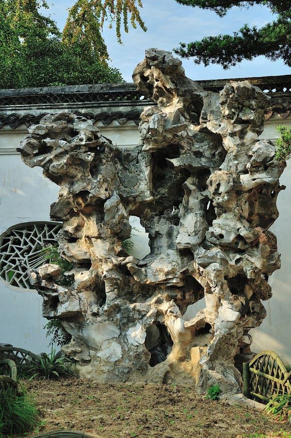 Камень Rockery стоковое изображение