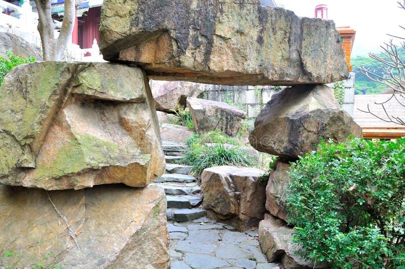 Камень Rockery стоковое фото rf