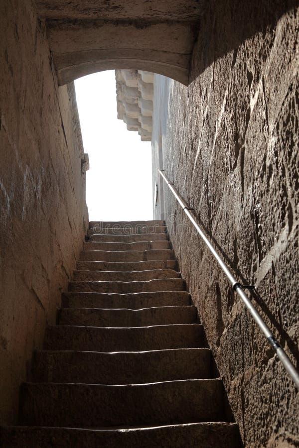 камень stairway стоковое изображение rf
