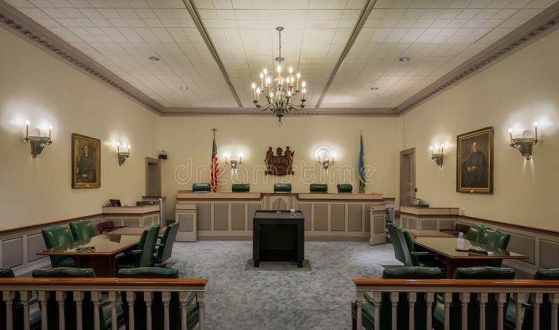 Камера Верховного Суда Делавера стоковые изображения rf