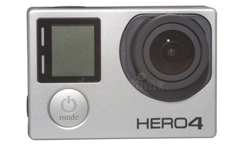 Камера героя 4 стоковая фотография