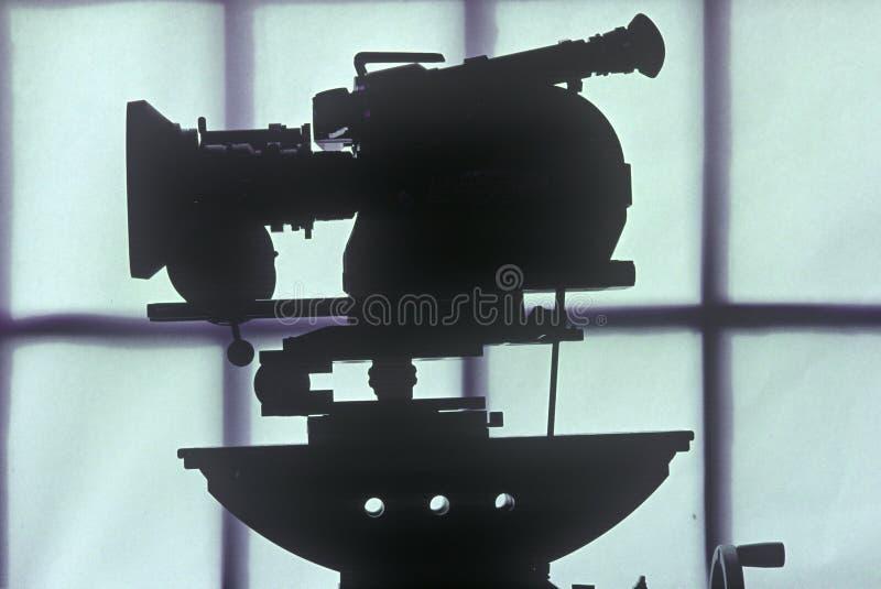 Камера киносъемки Arriflex 16mm для киноиндустрии Голливуда стоковое фото rf