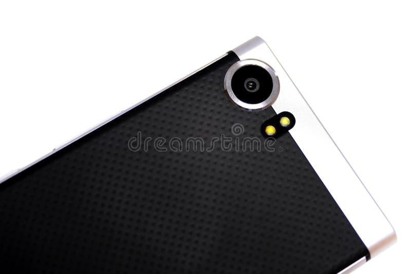 Камера, металл и резина Smartphone иллюстрация вектора