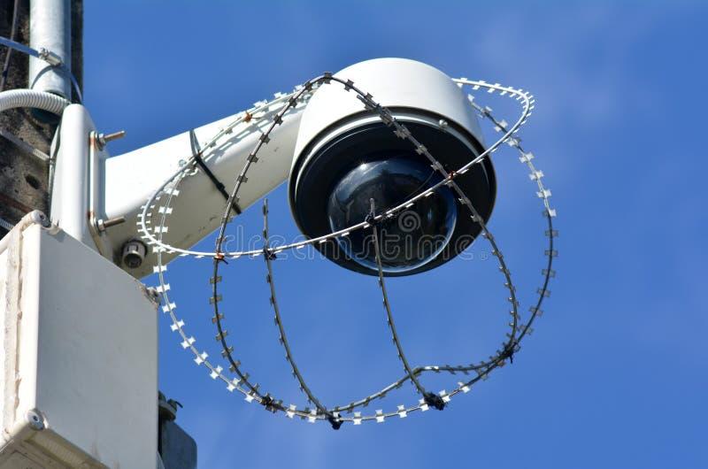 Камера слежения безопасностью стоковое фото