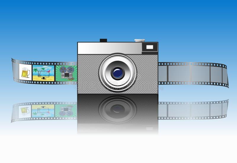 камера иллюстрация вектора