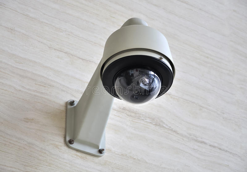 Камера Cctv стоковая фотография