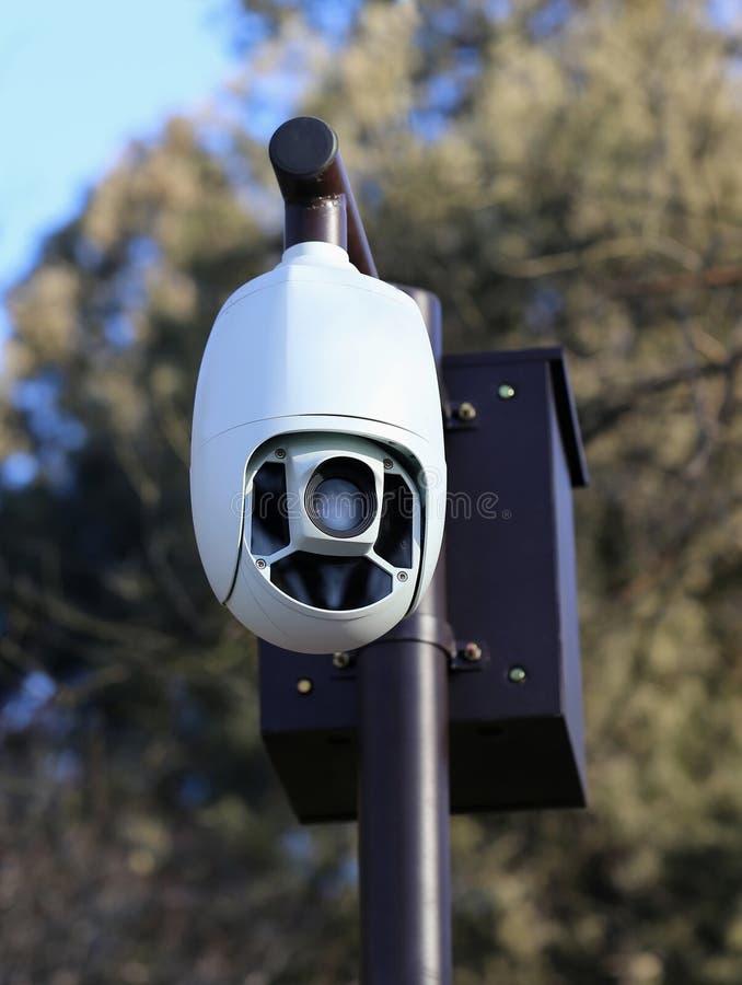 Камера Cctv стоковое изображение rf