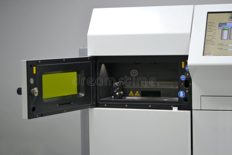 Камера Open работая машины спекать лазера для металла стоковые фотографии rf