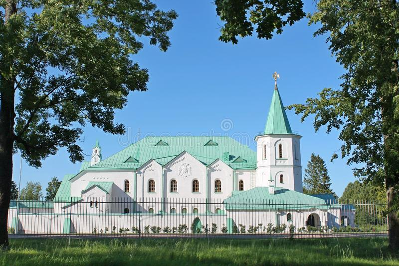 Камера Ratna в Pushkin Взгляд собора Андрюа апостола стоковые изображения