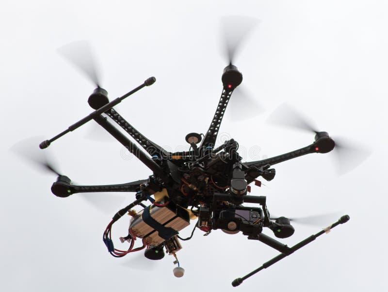 Камер-вертолет стоковое фото rf