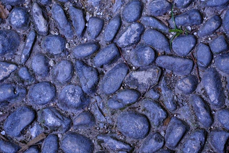 Камешки, вымощая каменная, естественная земля стоковые фото