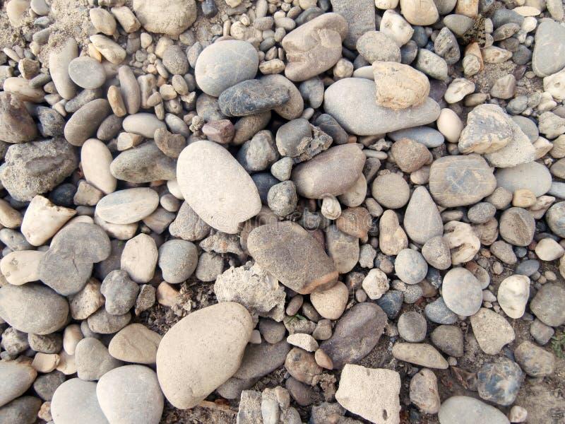 Камешки от реки стоковое фото rf