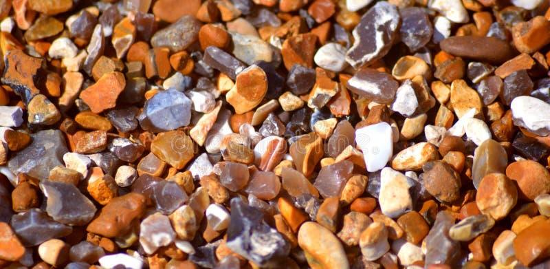 Камешки пляжа Брайтона стоковые изображения rf