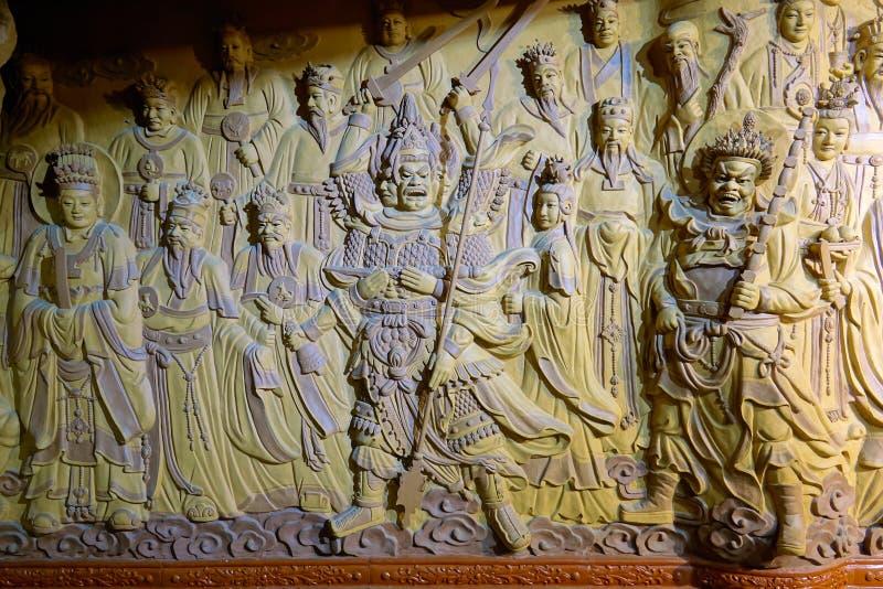 Камея Immortals Taoist стоковые фото
