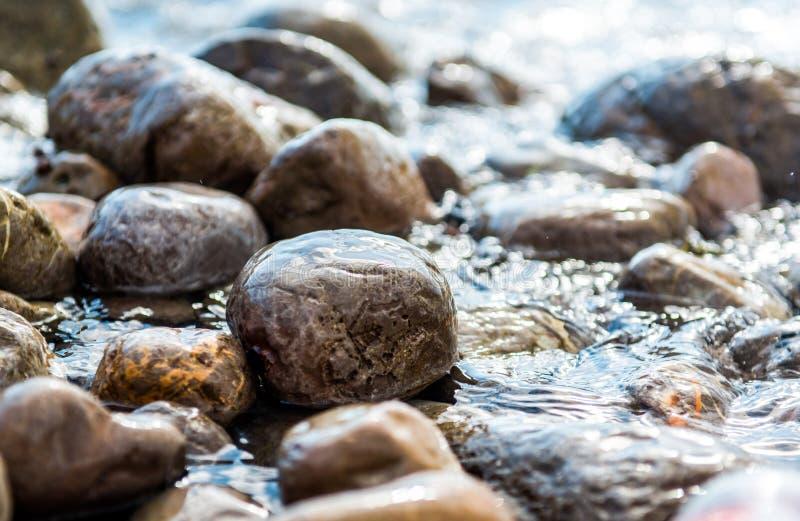 Камни взморья стоковая фотография
