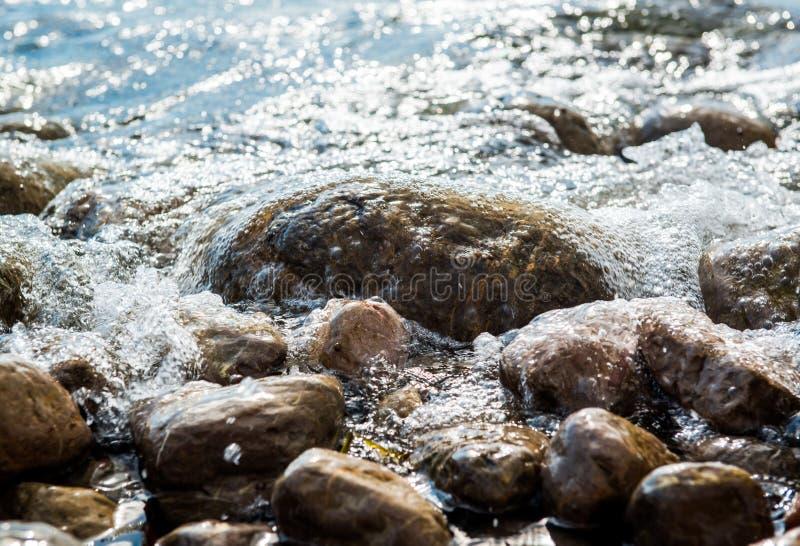 Камни взморья стоковые изображения rf
