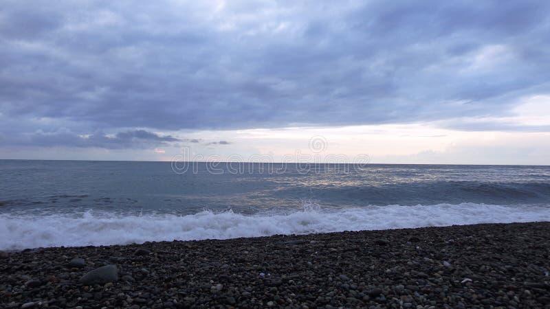 Камни и море стоковая фотография