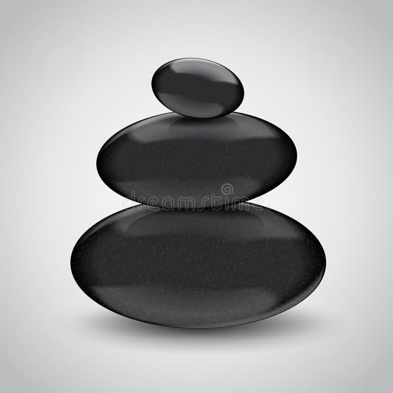 Download Камни курорта на серой предпосылке. Идея проекта Иллюстрация вектора - иллюстрации насчитывающей лоснисто, предмет: 40585477