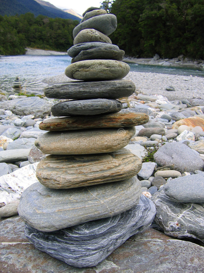 камни кучи стоковое фото rf