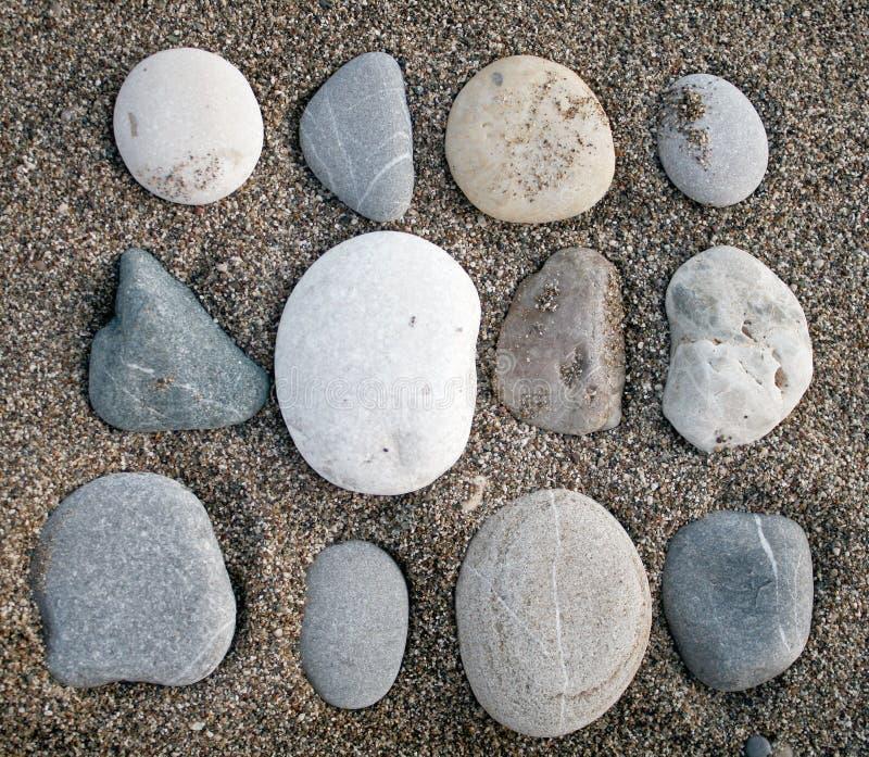камни песка стоковое фото
