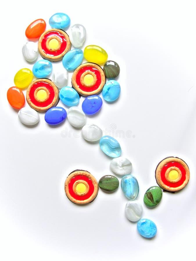 камни печенья стоковая фотография