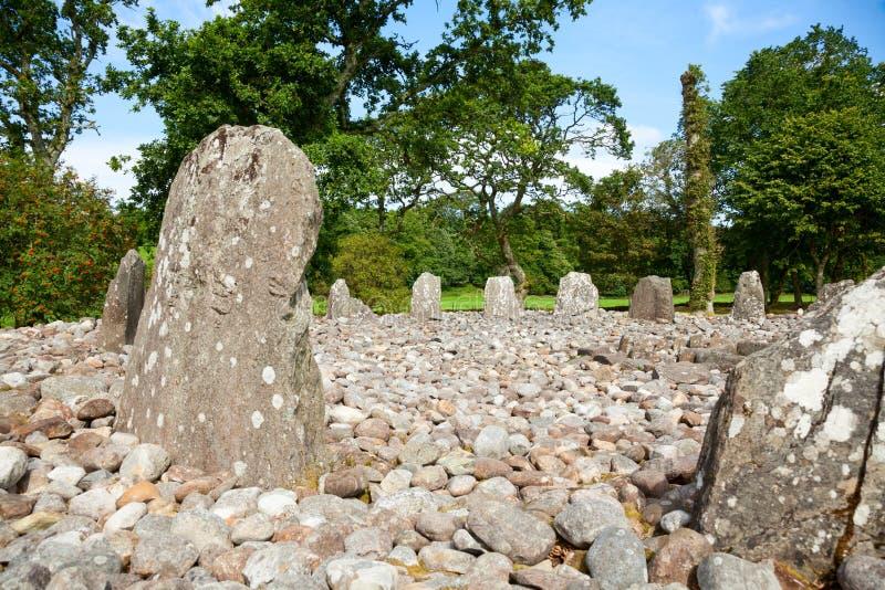 Камни древесины виска стоковое изображение rf