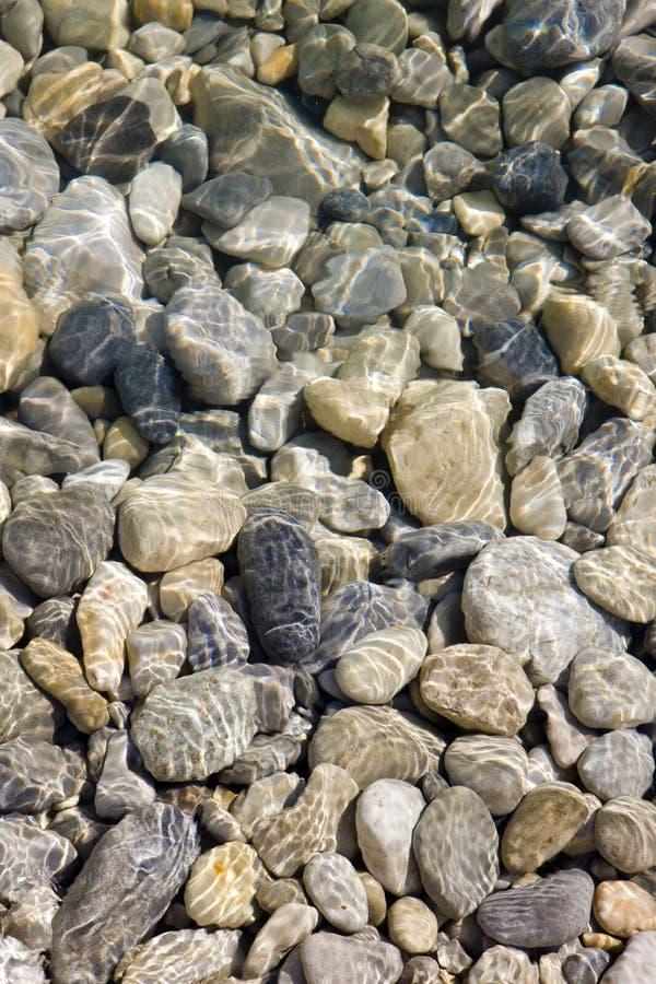 камни реки стоковое изображение
