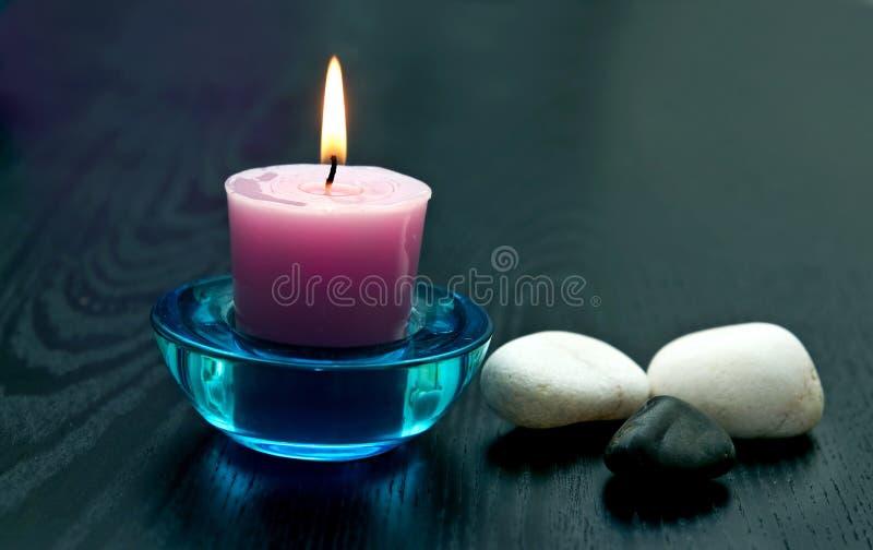 камни свечки стоковая фотография rf