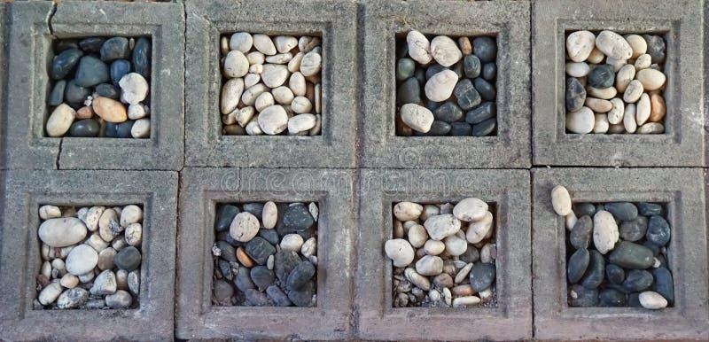 Камни смешивания текстурируют предпосылку стоковое изображение