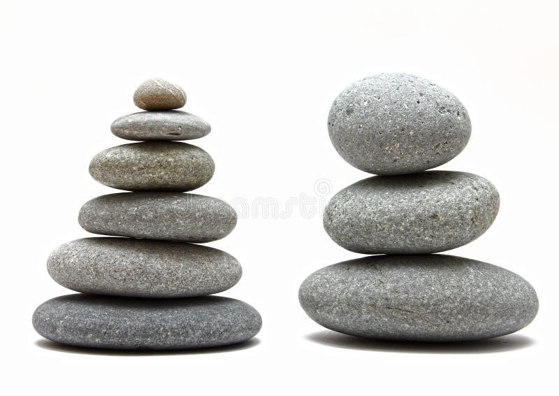 камни штабелированные спой стоковое фото rf