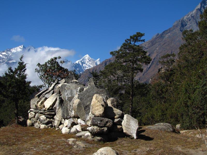 Камни для молитвы стоковое фото rf