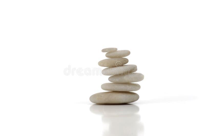 камни ii белые стоковая фотография