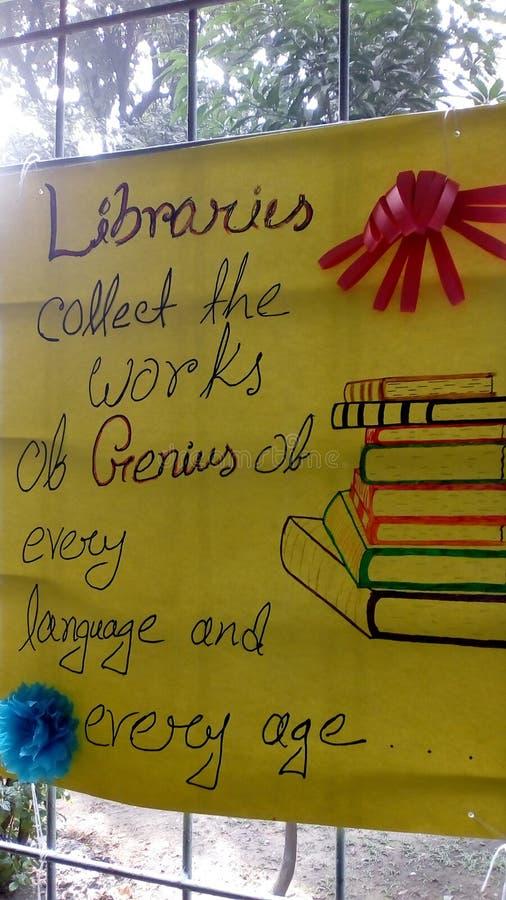 кампания библиотеки стоковые изображения rf