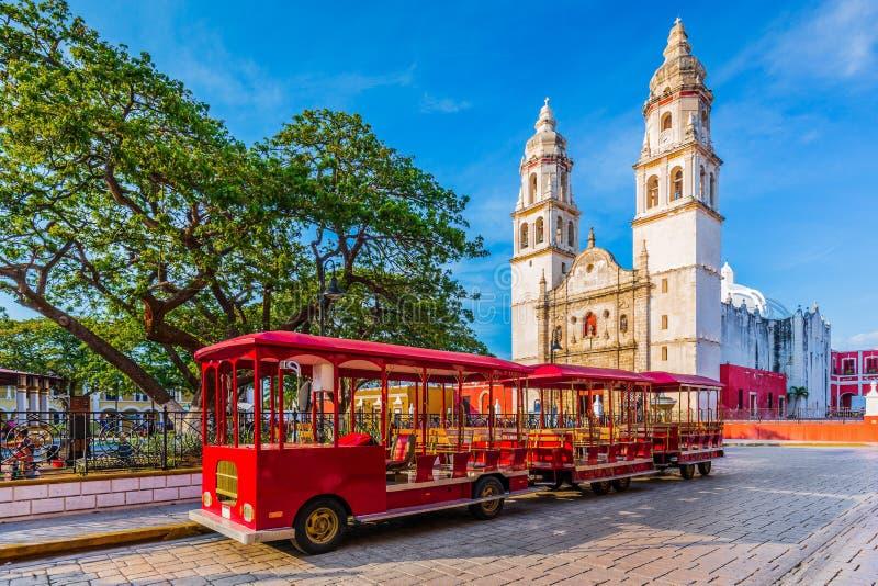 Кампече, Мексика стоковая фотография rf