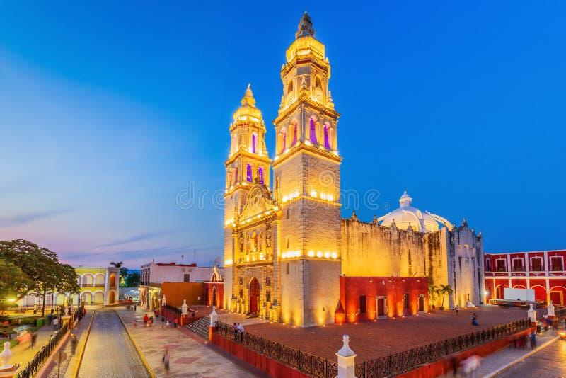 Кампече, Мексика стоковая фотография